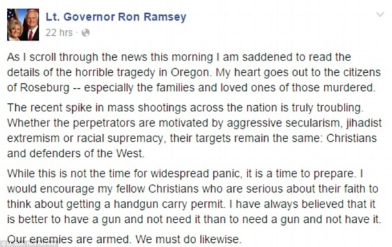 Ron Ramsey Lieutenant-Governor-Tennessee